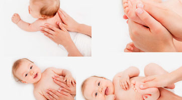 Три цели грудничкового массажа